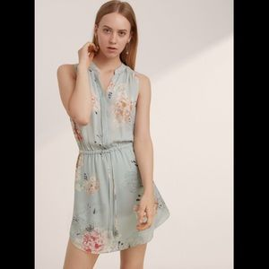 Aritzia Babaton Benedict Dress 100% silk